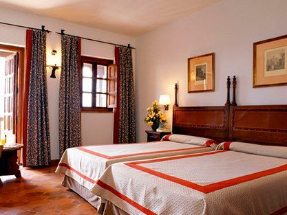 Bedroom Parador de Turisme de Tortosa